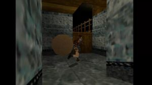 Tomb Raider 2 Level 12 Monastery Boulder