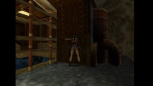 Tomb Raider 2 Level 12 Pool Door Switch