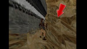 Tomb Raider 2 Level 12 outhouse