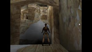 Tomb Raider 2 Level 13 Cave Ledge