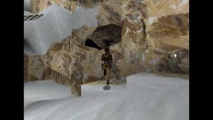Tomb Raider 2 Level 13 Hole in Wall