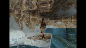 Tomb Raider 2 Level 13 Lake