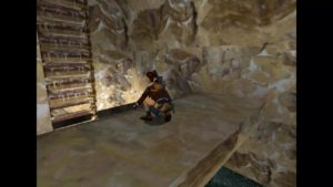 Tomb Raider 2 Level 13 Ledge Over Lake