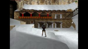 Tomb Raider 2 Level 13 Tibetan Buildings
