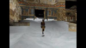 Tomb Raider 2 Level 13 Tibetan Doors