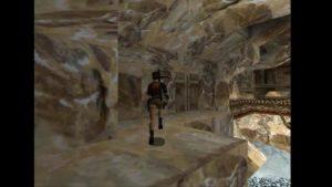 Tomb Raider 2 Level 14 Ice Lake Lever