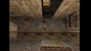 Tomb Raider 2 Level 14 Springboard