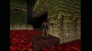 Tomb Raider 2 Level 15 Dragon Area Trap