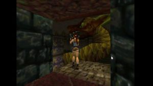 Tomb Raider 2 Level 15 Dragon Statue
