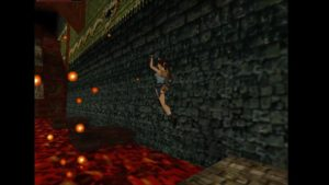 Tomb Raider 2 Level 15 Lava
