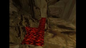Tomb Raider 2 Level 15 Lava Cave