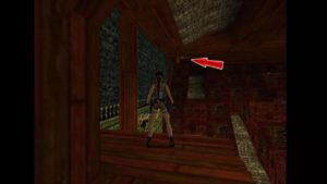 Tomb Raider 2 Level 15 Lava Room Exit