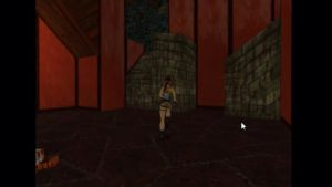 Tomb Raider 2 Level 15 Red Room