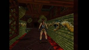 Tomb Raider 2 Level 15 Swinging Spikes