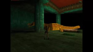 Tomb Raider 2 Level 16 Dragon
