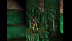 Tomb Raider 2 Level 16 Jade Room Block