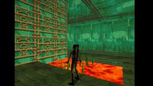 Tomb Raider 2 Level 16 Spikes and Lava