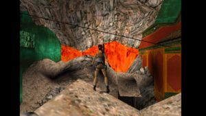 Tomb Raider 2 Level 16 Standing