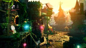 Trine 2 Goblin Menace Level 1 - Outside Tavern