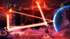 Trine 2 Goblin Menace Level 2 - Light Beam Puzzle