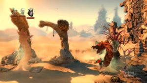 Trine 2 Goblin Menace Level 2 - Sandworms