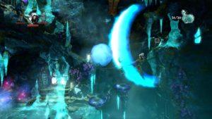 Trine 2 Goblin Menace Level 4 Ice Cavern
