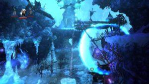 Trine 2 Goblin Menace Level 4 - Water Wheel