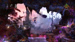 Trine 2 Goblin Menace Level 4 - Waterfall
