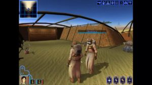 Knights of the Old Republic Sand People Enclave
