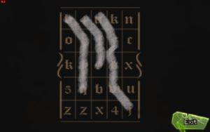 Shardlight Calligraphy