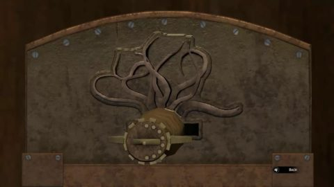 Syberia 3 Key to Exit Puzzle