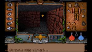 Ultima Underworld Level 1 Jump to Humans