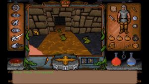 Ultima Underworld Level 1 Slugs