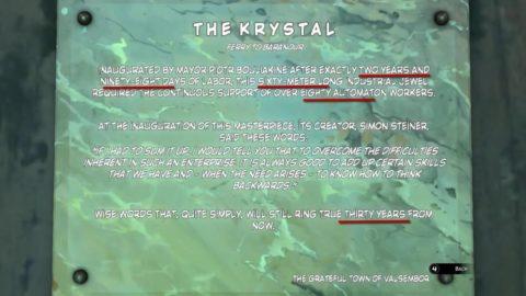 Syberia 3 Krystal Model Code
